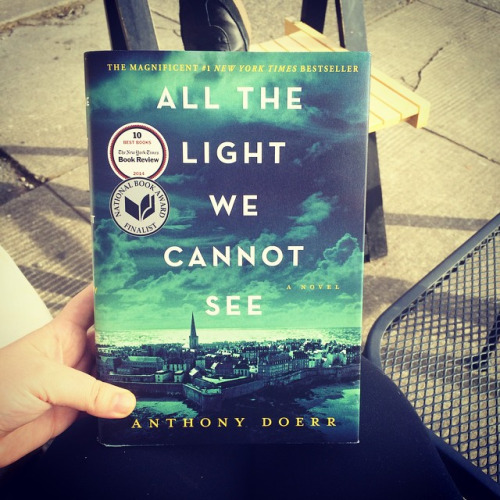 Read This Now: All The Light We Cannot See. Lizzy Acker Lizzy Acker March  25, 2015 | 181 | 1 | All The Light We Cannot See ...