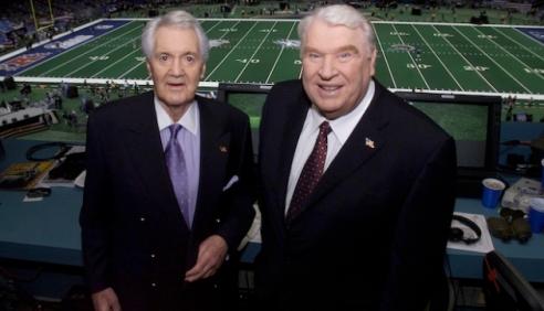 Super Bowl XXXVI - Pat Summerall & John Madden
